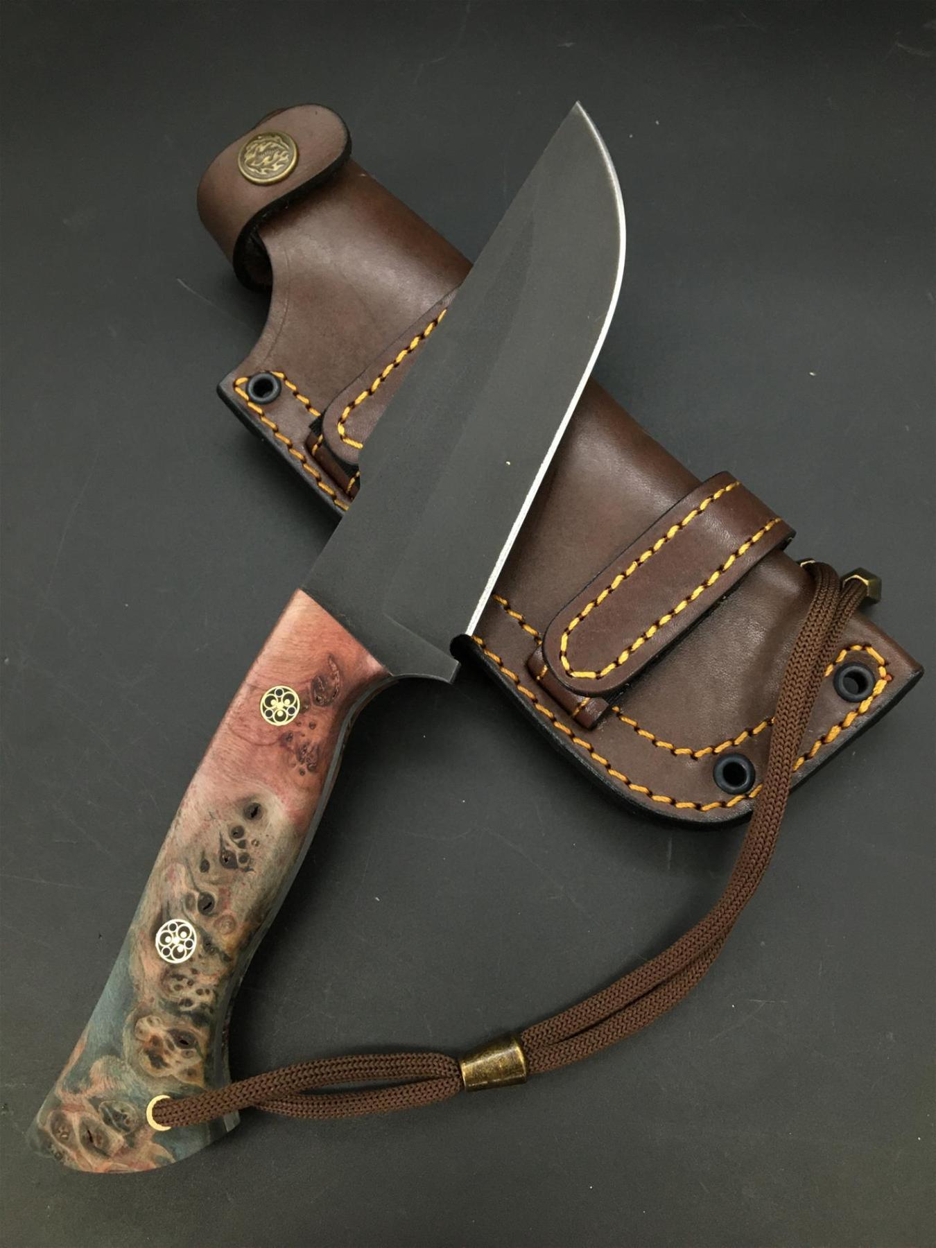 Handmade Uddeholm Sleipner Knife TK81 enlarge