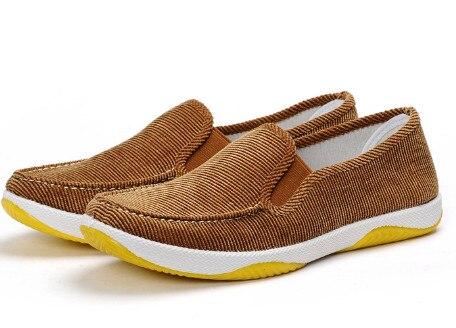 حذاء من الجلد برباط موضة جلد أصلي للرجال كوري غير رسمي