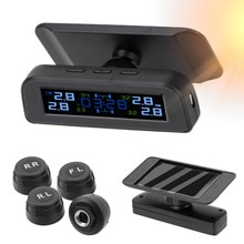 Solor TPMS Tire Pressure Sensor Fuel Save System With 4 External Sensor Car Tyre Pressure Monitor Au