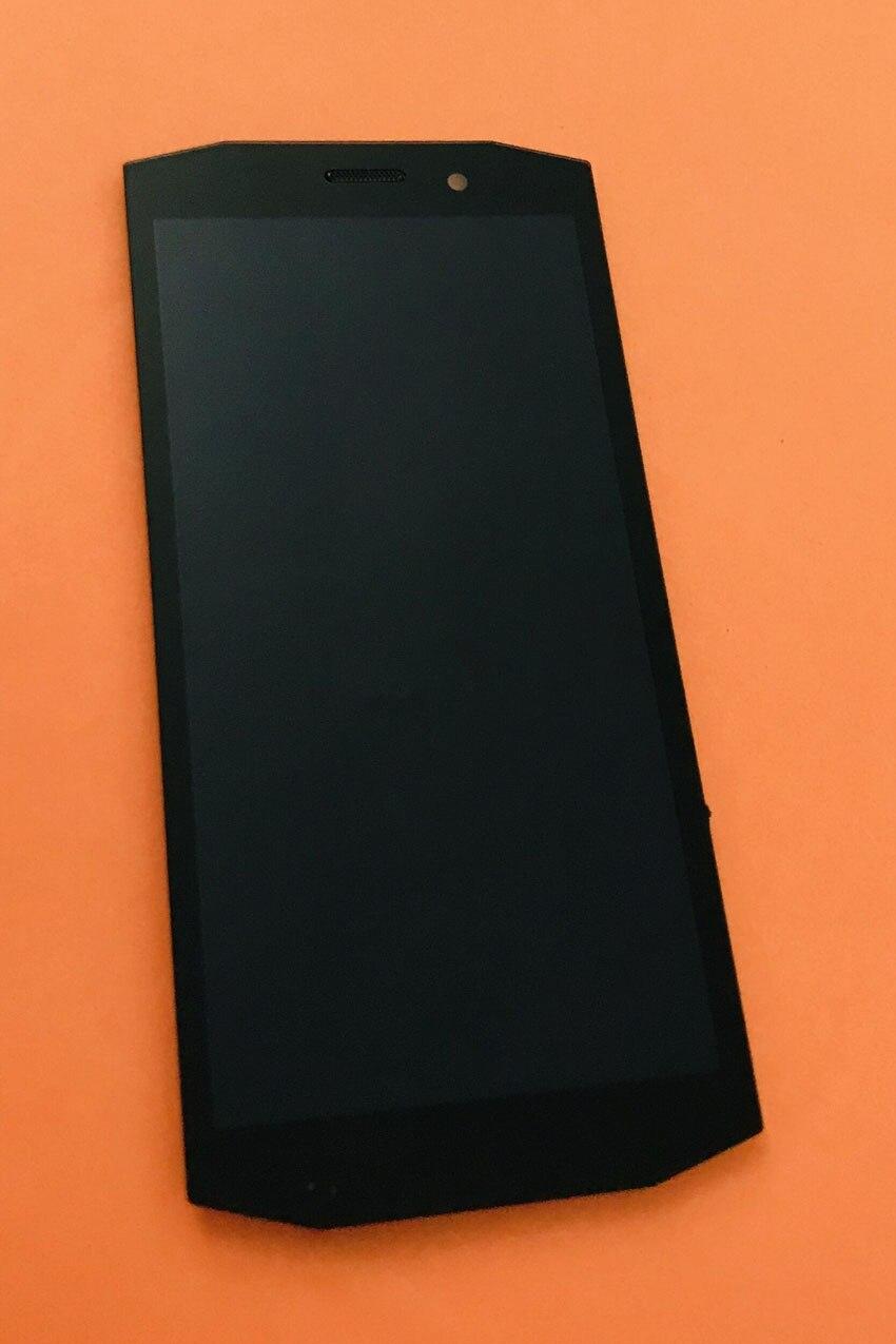 تستخدم الأصلي شاشة الكريستال السائل محول الأرقام شاشة تعمل باللمس ل Blackview BV5800 MT6739 رباعية النواة شحن مجاني