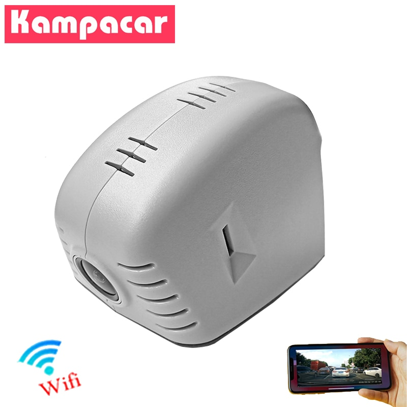 Kampacar HiSilicon Hi3516 Wifi Car DVR Camera Dash Cam For Audi s7 s4 s3 q7 q5 q3 a3 8p a4 Allroad b8 a5 a6 c6 c7 a7 4g a8 d2 d3