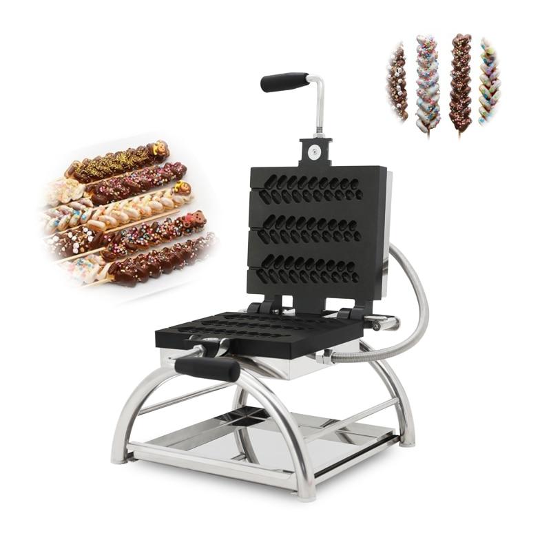 Waffle maker 110 v/220 v FORMA DE espiguilla waffle máquina comercial eléctrica cocina para gofres forma especial cocina para gofres 50-60hz