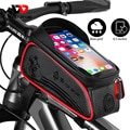 WEST BIKING непромокаемые велосипедов Сумка 6.5in чехол для телефона переднюю верхнюю раму велосипедная Сумка светоотражающие велосипедные аксессуары сумка с сенсорным экраном - фото