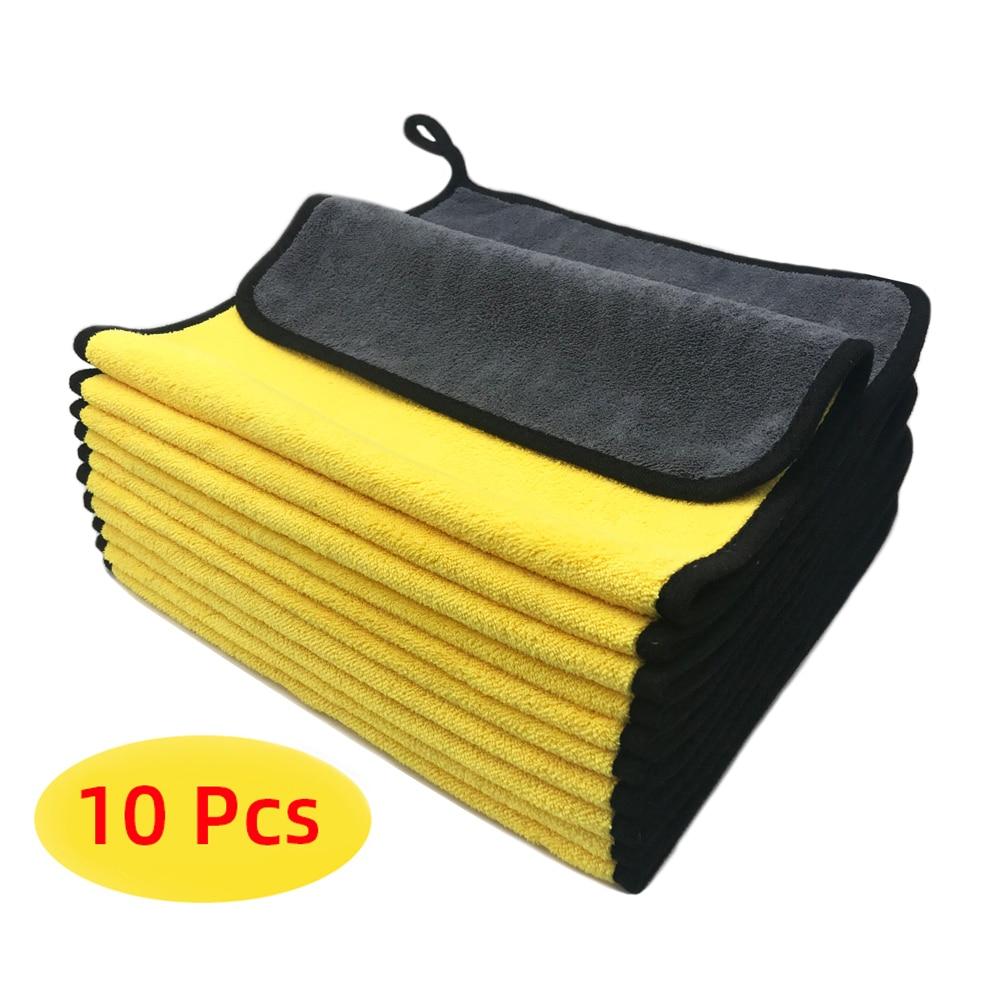 Полотенце из микрофибры, салфетка из микрофибры для мытья автомобиля, салфетка для мытья автомобиля, полотенце для Сушки автомобиля салфетка из микрофибры qualita антипыль 1 мл