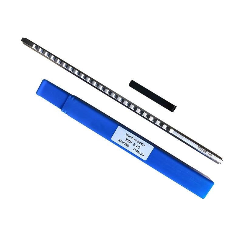مفتاح دفع من نوع Keyway ، 6 مللي متر ، 8 مللي متر ، C1 ، حجم متري ، أدوات تخريم لجهاز التوجيه CNC ، تشغيل المعادن