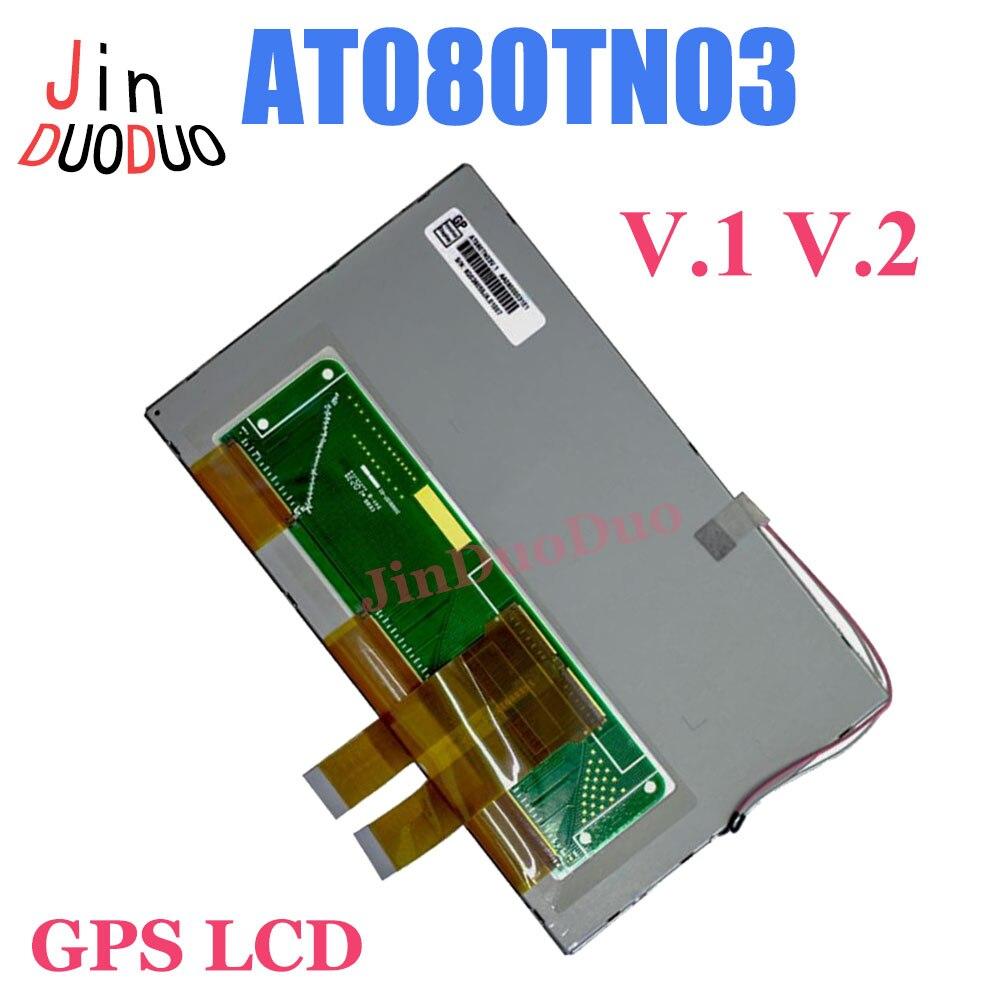 Фото - Origianl 8 Inch LCD Display AT080TN03 V.1 V.2 For Car GPS AT080TN03-V.1 AT080TN03 V.2 LCD Screen Panel b116xw02 v 0 lcd displays