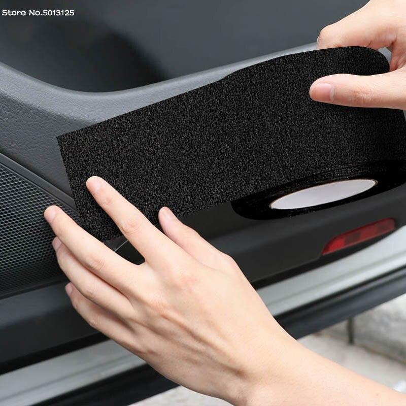 Para Honda Accord 10 ° 2020 2019 2018 Protector de alféizar de puerta de coche productos de cubierta pegatinas de parachoques antiarañazos placa película protectora