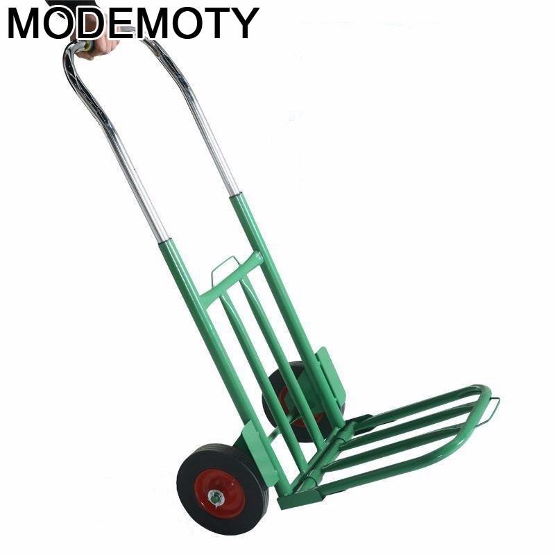 Carrito De la compra Plegable con ruedas, carrito De la cocina