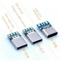 DIY OTG USB-3,1 слот для принтера мянч, Джек, USB 3,1, Тип C, разъем для печатной платы, дата-коннектор, клеммы для Android