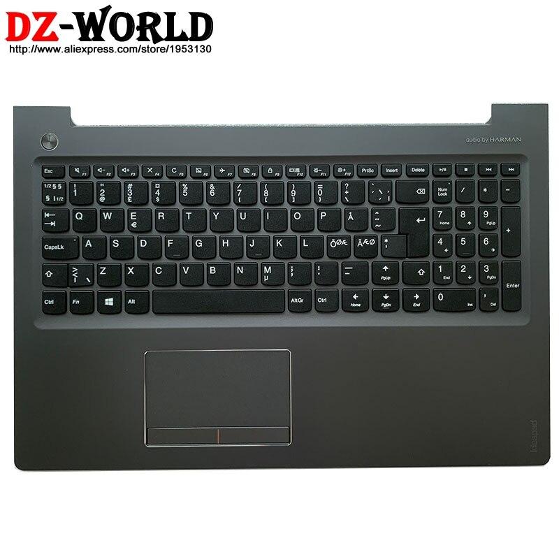 Panel táctil de teclado nórdico con cubierta de carcasa C, cubierta superior...
