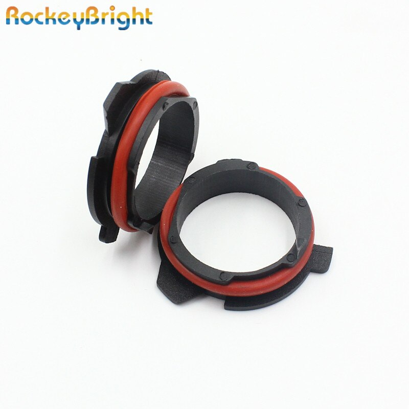 Rockeybright H7 светодиодные фары клип для BMW 5 серии E39 E60 E61 F10 F11 F07 F85 G30 G31 G38 h7 цоколь-адаптер для светодиодной лампы h7 держатель лампы