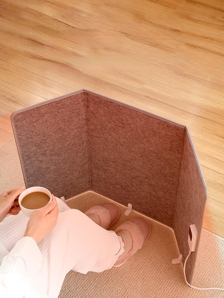 Office Heating Pad Foot Warmer Blanket Leg Under Desk High Quality Electric Pad Floor Winter Warmte Kussen Home Heating EB5DRD enlarge