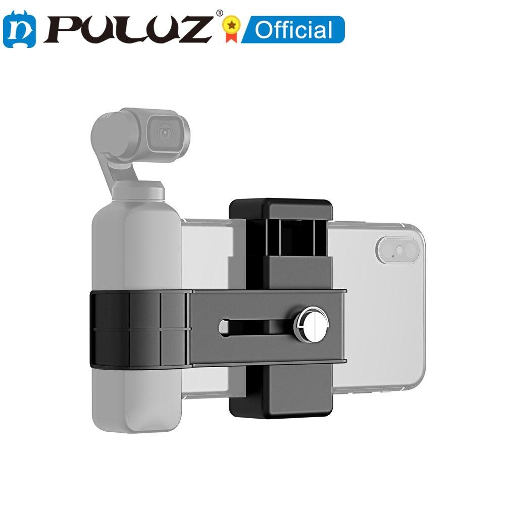 PULUZ-abrazadera de fijacin para telfono inteligente y soporte de montaje de 1/4...