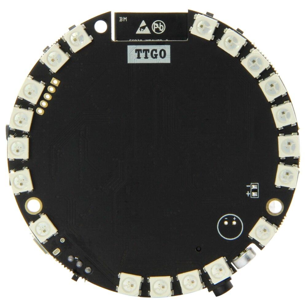 TTGO TAudio V1.6 ESP32-WROVER SD بطاقة فتحة بلوتوث واي فاي وحدة MPU9250 WM8978 12 بت WS2812B