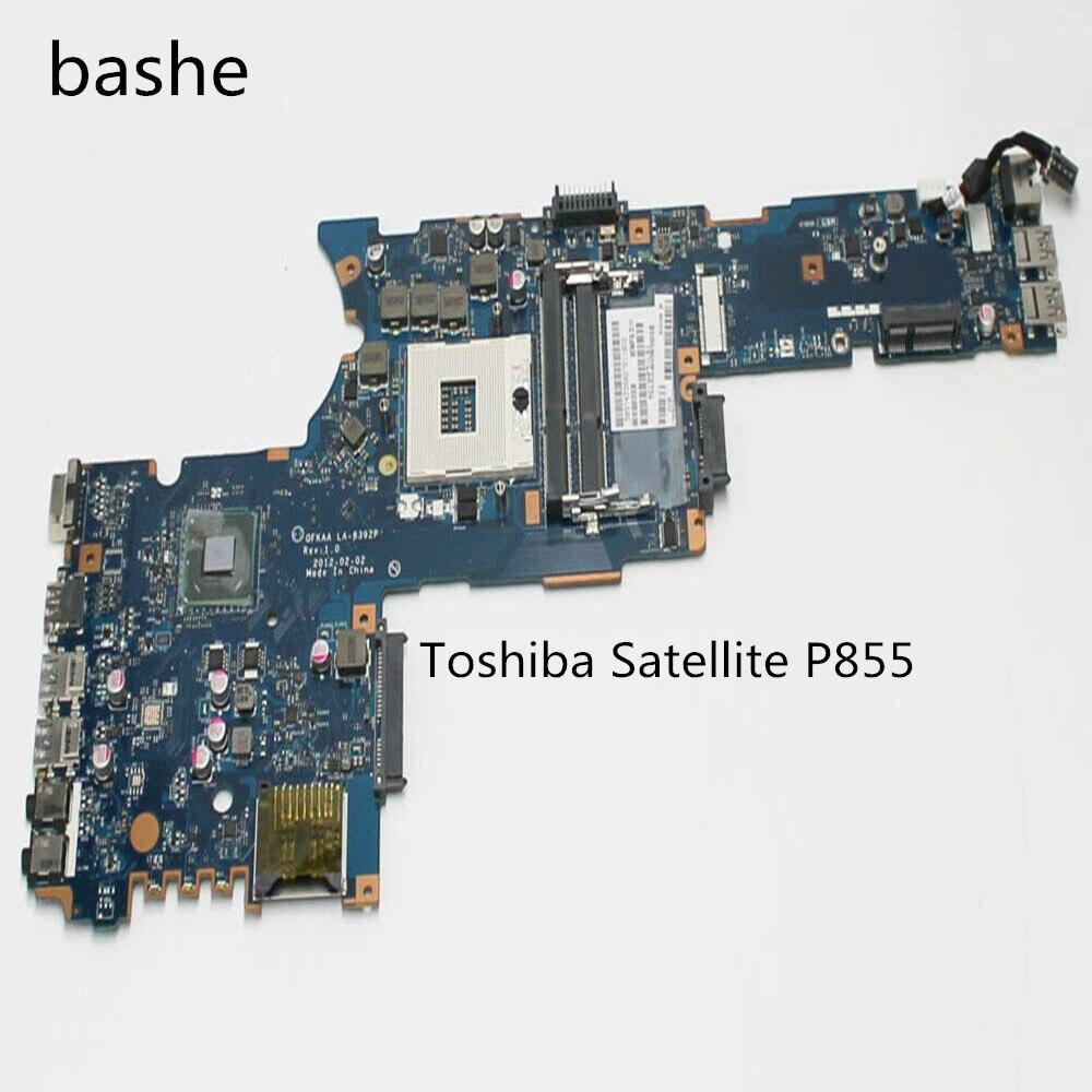 Para Toshiba Satellite P855 laptop placa base sin CPU gráficos independientes tarjeta LA-8392P placa base 100% prueba entrega gratuita
