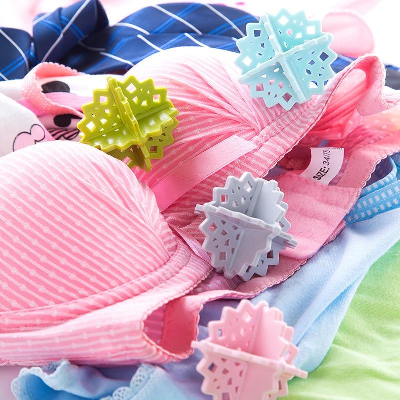 Bolas de secado Herramientas de limpieza reutilizables lavado de ropa Bola de tela suavizante para secado productos de lavandería seca accesorios bola de lavado 4 Uds