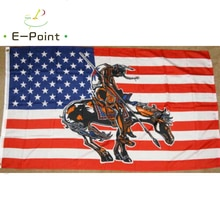 USA End of The Trail Flag 2ft*3ft (60*90cm) 3ft*5ft (90*150cm) Size Christmas Decorations for Home F