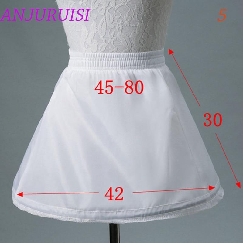 Cvjetnice donja suknja cosplay zabava kratka haljina podsuknja lolita - Vjenčanje pribor - Foto 6
