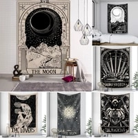 night moon tarot wall tapestry mandala tapestry home decoration tapestry psychedelic hippies free delivery wall hanging