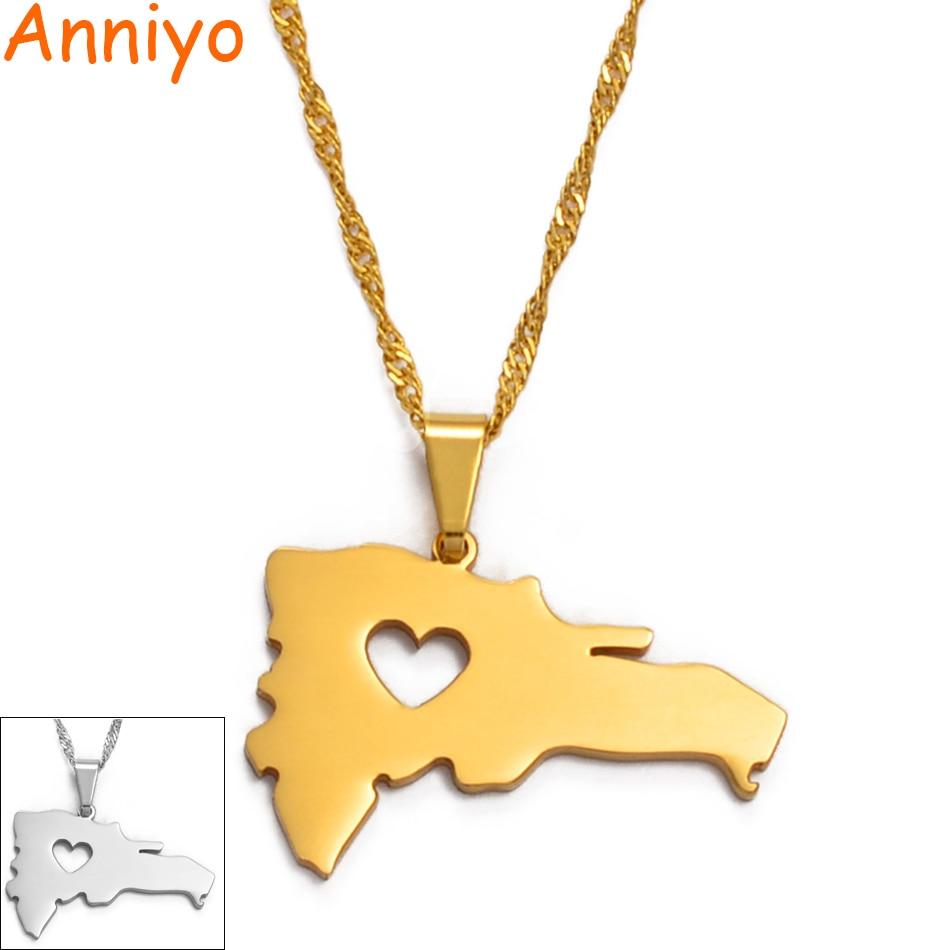 Ожерелье с подвеской в виде карты для женщин/мужчин, серебряного цвета/золотого цвета, ювелирные изделия, карта, #004321