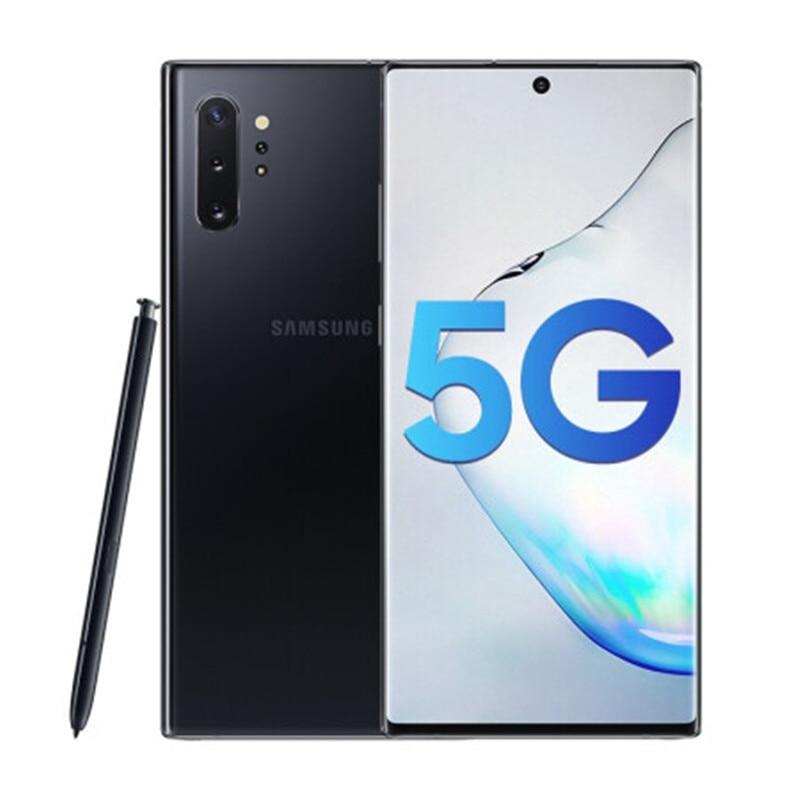 Фото5 - Samsung Galaxy Note10 + N975U Note10 Pro N975U1 разблокирован мобильный телефон Snapdragon 855 Octa Core 6,8 дюйм. тройной камеры 12 г 256