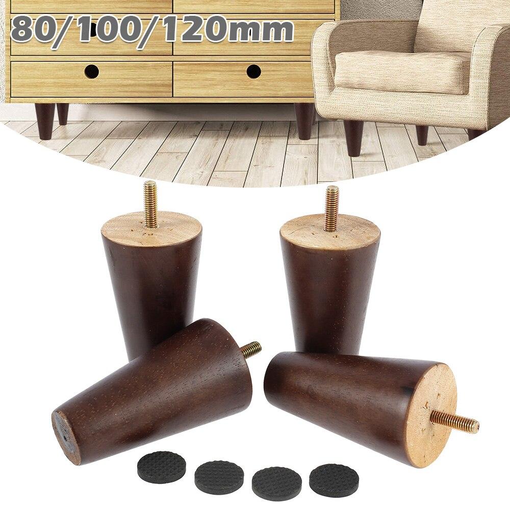 4 шт./компл. мебель, сменные ножки, круглые конические спальни, деревянный стол, диван, стул, шкафы разных размеров, кровать, кресла, ножки