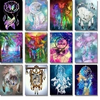 Peinture diamant theme  Sweet Dream   broderie complete 5d  perles rondes  3d  points de croix  strass indiens  a faire soi-meme  decoration dinterieur  noel