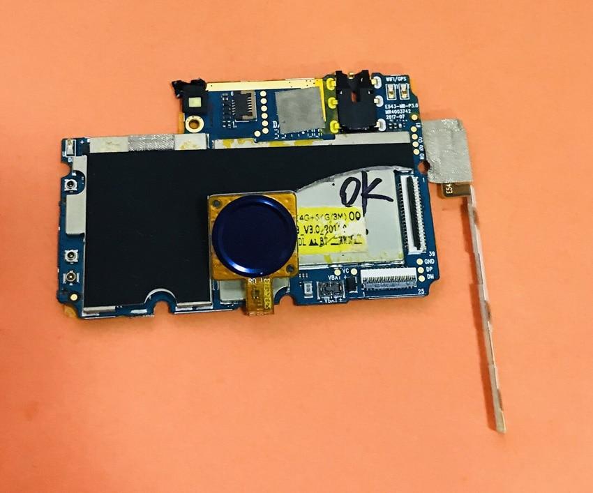 Usado original mainboard 4g ram + 64g rom placa-mãe para oukitel u11 plus mtk6750t octa core 5.7 ffhd frete grátis