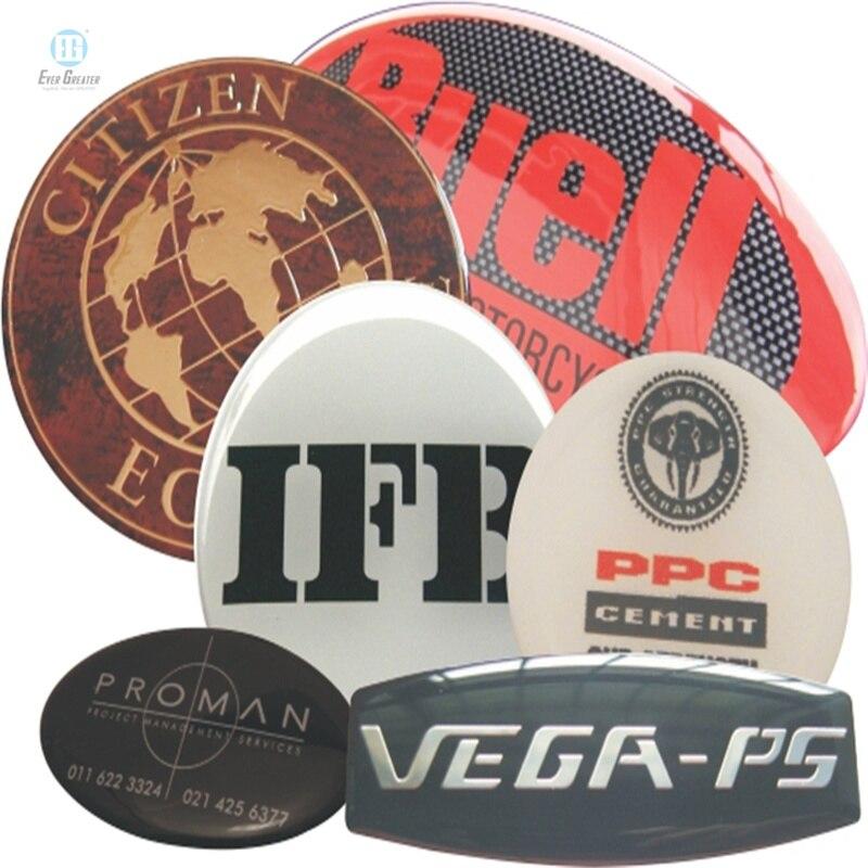تخصيص ملصقات قبة واضحة راتنجات الايبوكسي أو ملصقات بولي Stickers مع نوعية كبيرة و ROHS أكثر من 25 تجربة