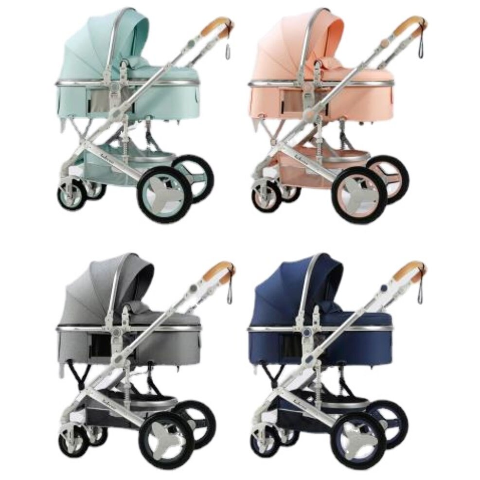 Luxury Baby Stroller Portable Travel Baby Carriage Lightweight Stroller Baby Car Four Wheels Stroller for Newborn Buggy Pram enlarge