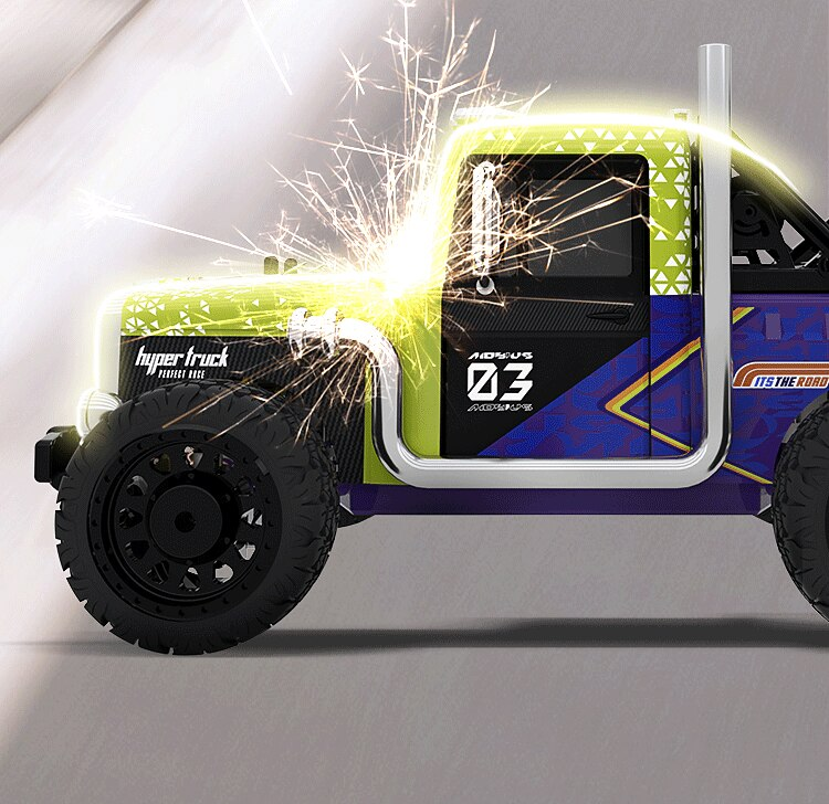 1:16 Rc Car 4WD high-speed remote radio controlled cars model Electric control machine Drift off road Race Toys for children boy enlarge