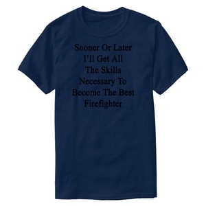 Индивидуально изготовленная Мужская футболка рано или поздно, я получу все навыки, Мужская комиксная футболка, Мужская одежда, популярная ф...