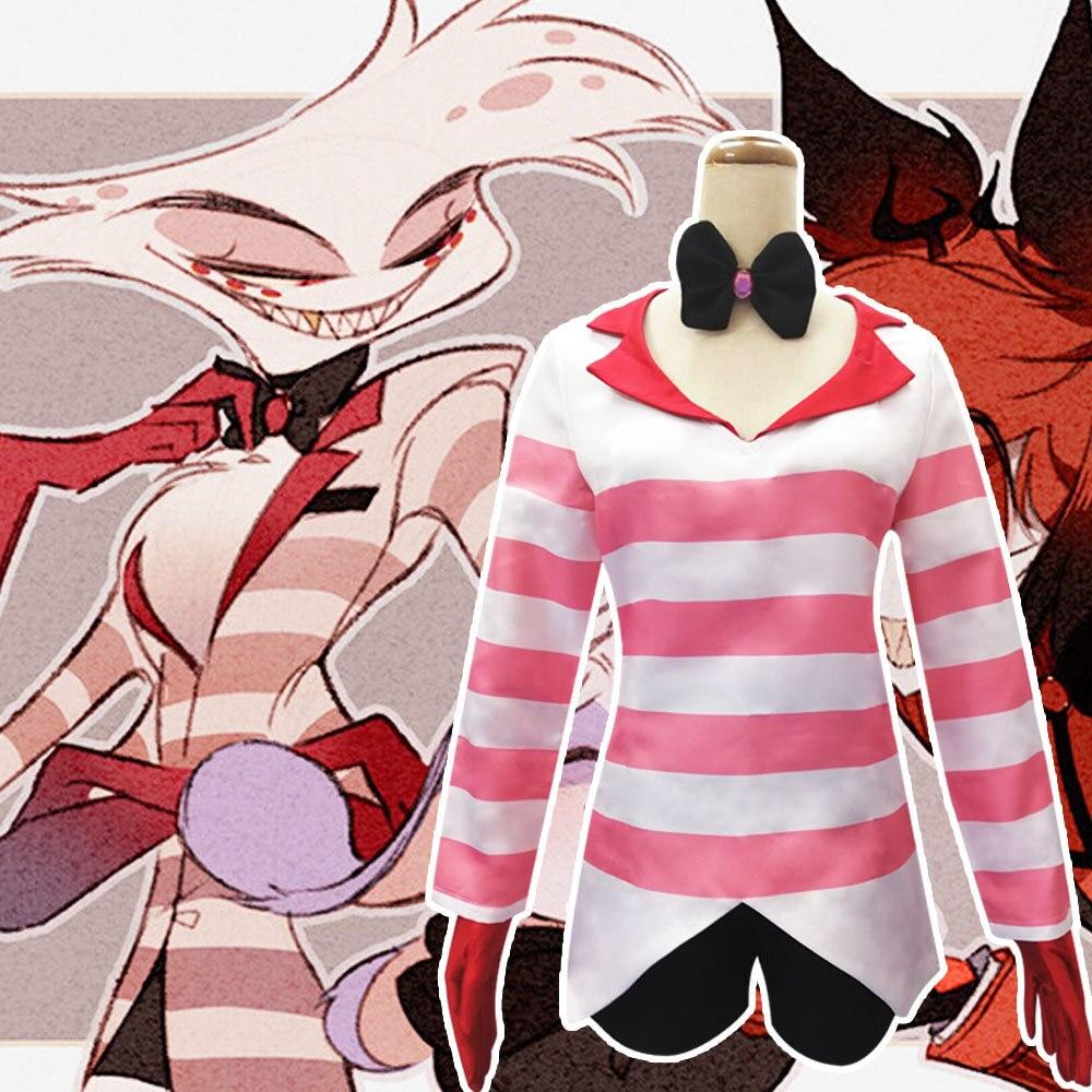 Disfraz de Cosplay HISTOYE, disfraz de animación de Hotel Hazbin ANGLEDUST, ropa de Cosplay para mujer, disfraz de Halloween, fiesta