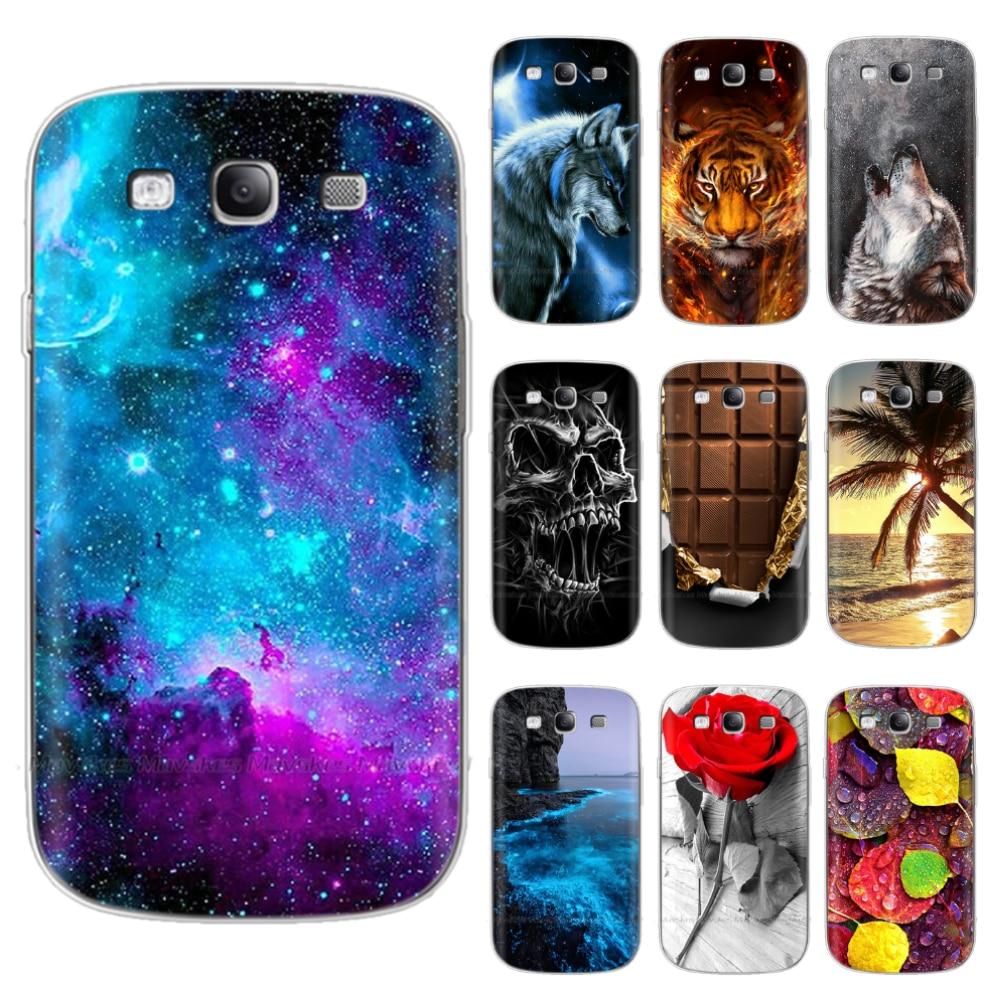 Funda trasera de silicona suave para Samsung Galaxy S3, funda de TPU...