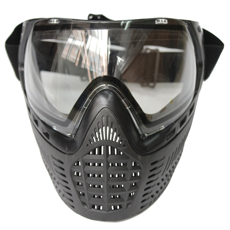 Mascara Airsoft Paintball Full Face Protect Mask Tactical Helmet for Paintball Shooting Protection Anti Fog DYE I4 Thermal Lens
