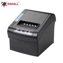 Impresora térmica de alta velocidad de 80mm/seg de 260mm, impresora térmica de recibos con WIFI/LAN/serie/USB para supermercados, sistema POS de cocina