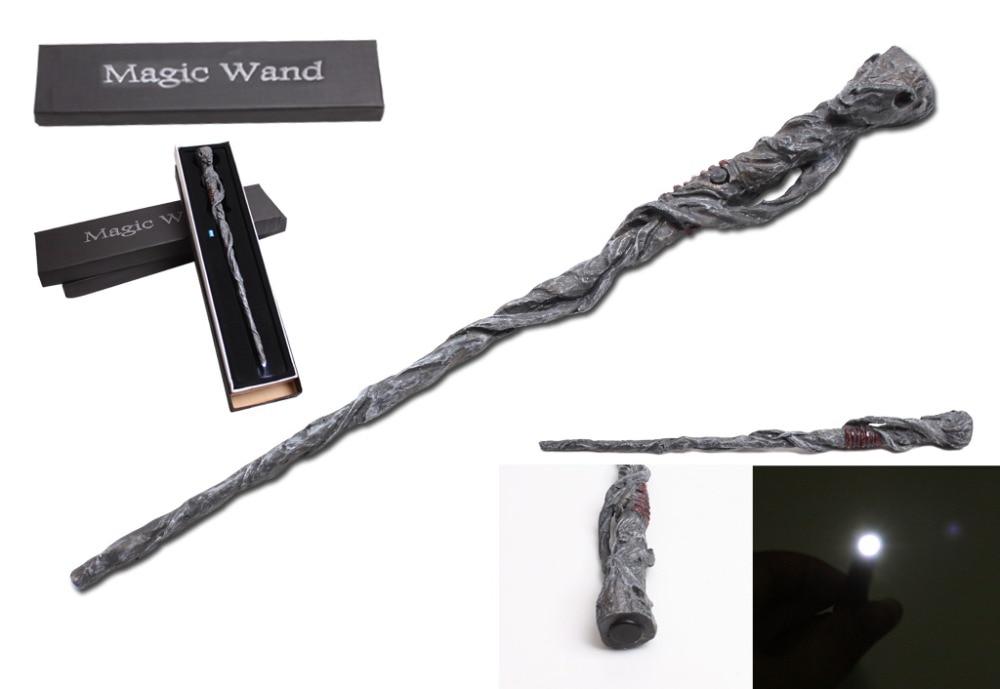 Varita de iluminación Led regalo de Navidad Sr. Potter varita mágica Ron Weasley Snape Cosplay niños mejores juguetes milagro palo Hermione etapa