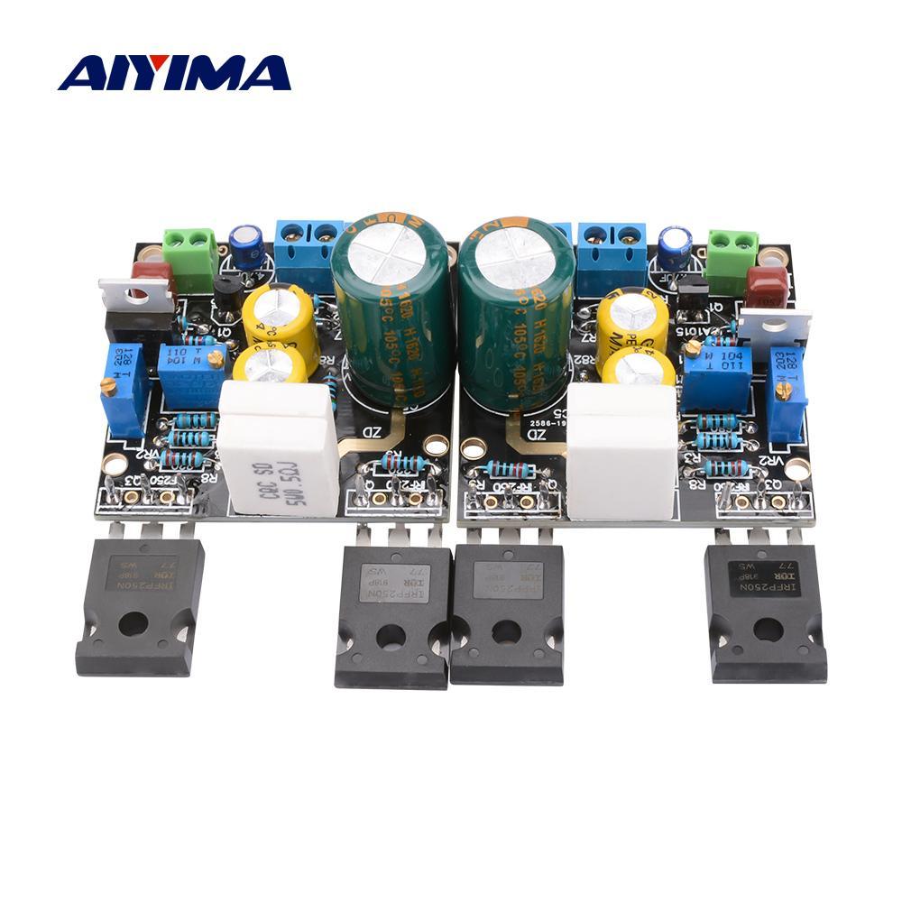 AIYIMA 2Pcs Amplificador 1969M FET Preamp Bile Amplifier Audio Board 1969 IRF250 Tube Amplifier DC15-60V