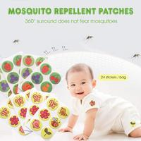 Brand New 24Pcs/Pack Kids Mosquito Repellent Patches Summer Students Mosquito Killer Cute Cartoon Mosquito Repellent Sticker
