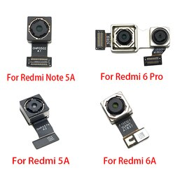 Cabo flexível traseiro para câmera xiaomi, redmi 5 plus 4x 5a 6a k20 6 note 7 substituição 6 pro s2