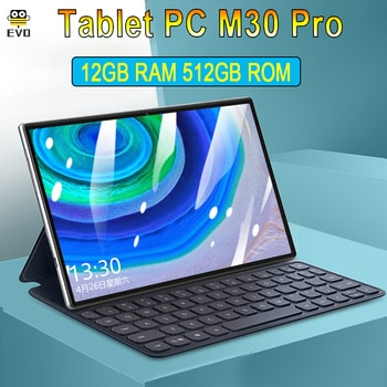 M30 Pro 10.1 inch tablet android Global Version tablets mtk6797 10 Core 12GB RAM 512GB ROM tablet GPS Phone Call windows Tablete