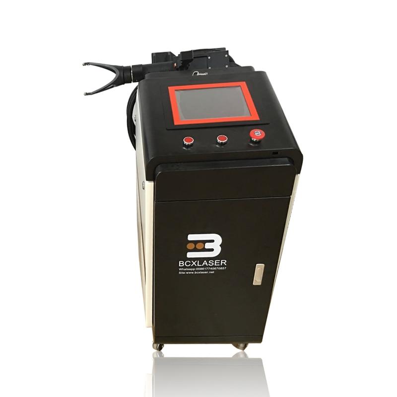 Máquina de limpieza láser de fibra para removedor de óxido de metal pistola láser desengrasante removedor de pintura deconta láser