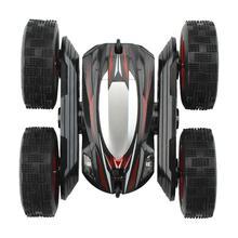 4WD 2.4G RC haute vitesse 360 degrés rotation course cascadeur voiture avec LED enfants jouet