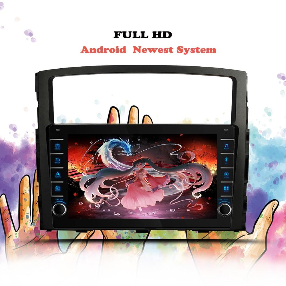 Android 10.0 Car Radio Multimedia Video Player Navigation GPS 6+128G For Mitsubishi Pajero 4 2006 20
