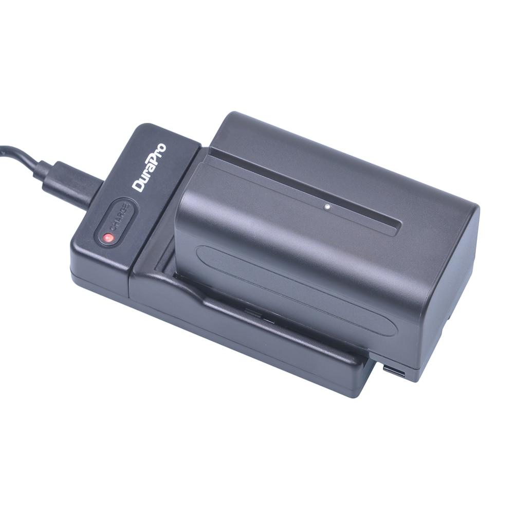 1pc 5200mAH NP-F750 NP-F770 batería Li-Ion + cargador USB para Sony NP F970 F960 ccd-tr917 ccd-tr940 ccd-trv101 ccd-trv215 ccd-trv25