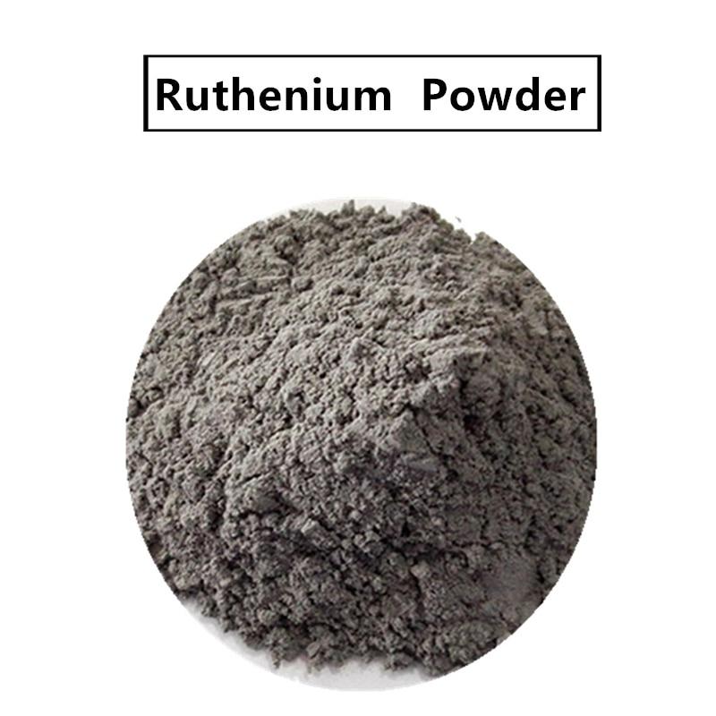 Высокочистый порошок рутения Ru редкий металл для катализатора