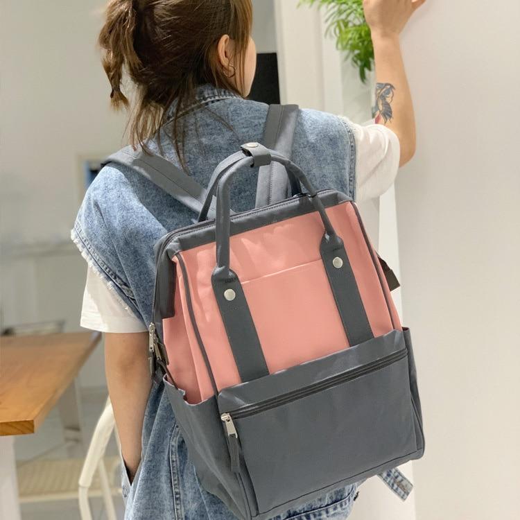 Рюкзак в японском и корейском стиле мужской вместительный рюкзак школьный женский