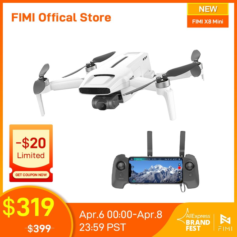 FIMI X8 Mini Camera Drone 250g-class drones 8km 4k professional mini drone Quadcopter with camera gps remote control helicopter