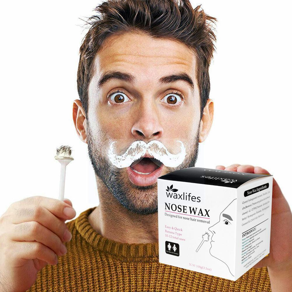 Набор воска для носа S4Q0, портативный воск для депиляции, одноразовый набор для нанесения мазка