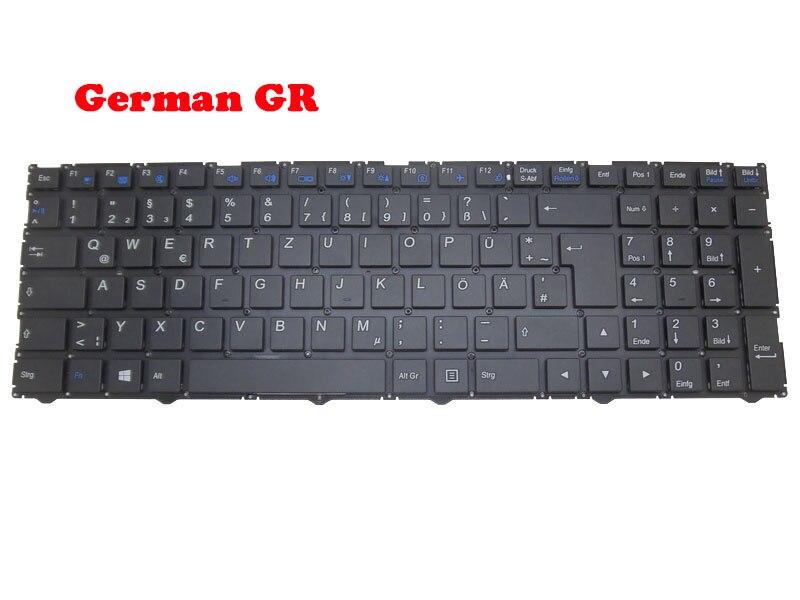 لوحة المفاتيح لابتوب ميديون Erazer P6705 MD61131 MD61206 MD61564 MD61106 MD61105 MSN30024994 30026988 30024939 30024935 الألمانية GR
